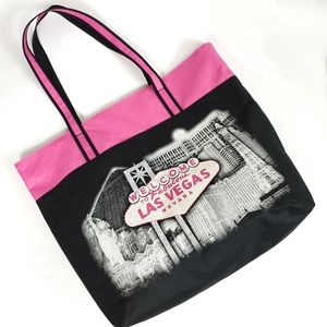 Welcome to Fabulous Los Vegas Tote Fabric bag